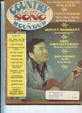 Country Song Roundup May 1973 Mac Davis Tanta Tucker Don Gibson  MBX48