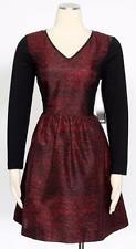 Kensie Poppy Combo Color Block Shift Dress Size L Women's Casual New*