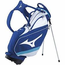 MIZUNO Golf Men's Stand Caddy Bag Tour 9.5 x 47 in 2.6kg White Blue 5LJC202500