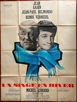 Plakat Un Affe Aus Winter Henri Verneuil Jean Gabin Jean-Paul Belmondo 120x160cm