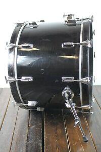 Pearl Professional Series DX JAPAN 24 x 16 Bass Kick Drum BLACK  #R8189