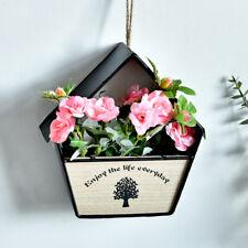 Wall Hanging Flowerpot Plant Flower Basket Creative Home Garden Decor Art Modern