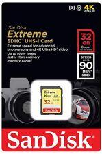 32GB SDHC EXTREMOS HD Class 10 Tarjeta de memoria hasta 90MB/s