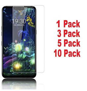 Lot of Tempered Glass Screen Protector Compatible with LG V50 ThinQ