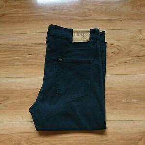 Riders by Lee Men's Jeans Straight Leg Size 36W 33L Light Black + FREE POST!