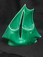 Green Sailboat Wall Pocket