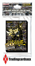 ♦Yu-Gi-Oh!♦ 50 Protèges Cartes/Pochettes/Sleeves SMALL Golden Duelist Collection