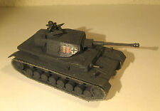 Char PANZER IV Tank - Maquette 1/72 Model  Peint Painted - Armourfast - WWII WW2