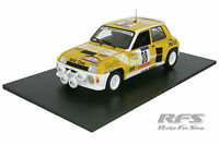 Renault 5 Turbo - Bartoli / Poletti - Rallye Tour de Corse 1984 - 1:18 - UH 4554