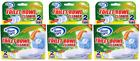 House Care Toilet Bowl Cleaner Tabs with Bleach, 2 Ct. (Pack of 3)