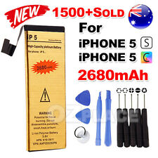 2680mAh Internal Replacement Battery Pack Repair Tools for Apple iPhone 5S 5C