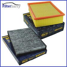 Filterset Luftfilter Pollenfilter Innenraumfilter Aktivkohle Audi A4 8E B6 B7