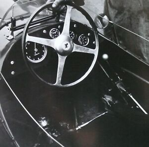 1958 Mike Hawthorn FERRARI F1 Cockpit Steering Wheel Jesse Alexander Photo Print