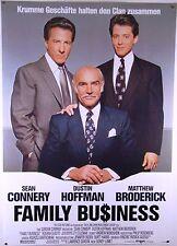 Family Business SEAN CONNERY, DUSTIN HOFFMAN - Filmplakat DIN A1 (gerollt)