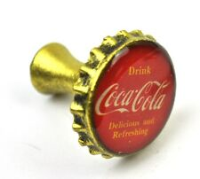 Coca-Cola Coke USA Messing Schubladen Knauf Kronkorken Griff Drawer Knobs Pulls