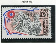 TIMBRE FRANCE OBLITERE N° 2565 CELEBRITE MIRABEAU / Photo non contractuelle