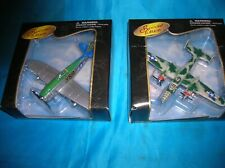 2 MaiSto Air Force 1997 New In The Box Die Cast Airplanes
