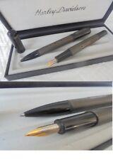 HARLEY DAVIDSON SPIRIT SET PENNA STILOGRAFICA E PENNA SFERA Fountain & Ball Pens