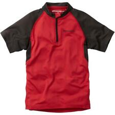 Madison Tracker infantil manga corta camiseta de Motorista Rojo 10 -12