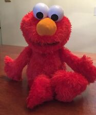 "PLAYSKOOL FRIENDS 2016 TALKING LAUGHING TICKLE ME ELMO 15"" PLUSH DOLL TOY"