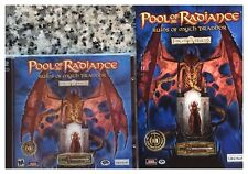 Pool of Radiance: Ruins of Myth Drannor for New Sealed Game + 142 Pg Manual +Map