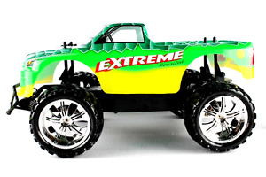 EXTREME MONSTER Remote Controlled Off Road 1/10 Electric Monster Truck