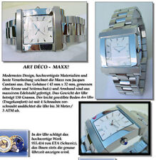 Jacques Cantani lujo unisex reloj dígito gular especial carcasa forma