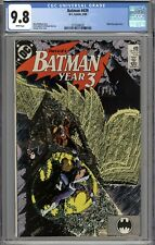 Batman #439 CGC 9.8 NM/MT Nightwing Appearance WHITE PAGES