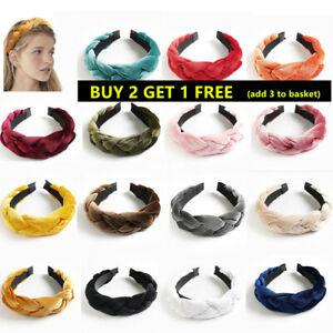 Women's Girls Headband braid Fashion Headbands Twist Hairband