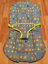 Bright Stars Baby Bouncer Replacement Seat Part Padded Cover Multicolor Blue