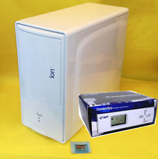 NEW White Glossy Blue Front LED ATX Mid Tower PC Gaming Case + 4X Fan Controller