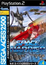 Used PS2 Sega AGES 2500 Series Vol 4 Space Harrier SONY PLAYSTATION JAPAN IMPORT