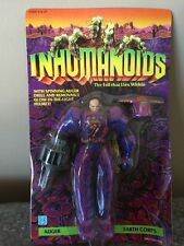Vintage 1986 Hasbro Inhumanoids Earth Corps AUGER Action Figure Unpunched !
