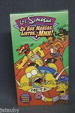 Homer Bart LOS SIMPSON  En Sus Marcas Listos MMH!  3 episodes 1 VHS - Movie Film
