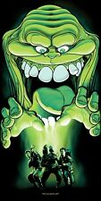 Joshua Budich Ghostbusters Poster Who You Gonna Call Signed & Numbered #/100