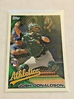 2010 Topps Update Baseball Rookie Card - Josh Donaldson RC - Orlando Athletics