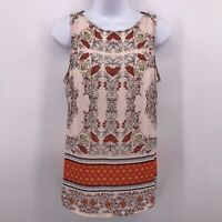41Hawthorn Stitch Fix Sz S Pink Floral Sleeveless Blouse Top Tank Top Casual