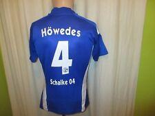 """FC Schalke 04 Adidas Damen/Lady Trikot 2008/09 """"GAZPROM"""" + Nr.4 Höwedes Gr.S- M"""