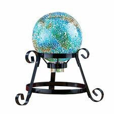 Mosaic Garden Gazing Ball Yard Decoration, by Collections Etc