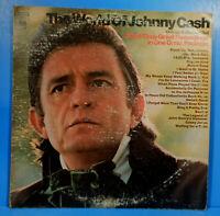 THE WORLD OF JOHNNY CASH VINYL 2X LP 1970 ORIGINAL PRESS  NICE CONDITION G+/VG!!