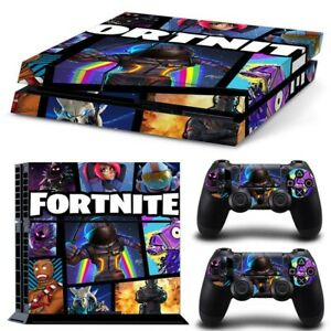 Fortnite Vinyl Decal Skin For PS4 Console Playstation 4 Controller Sticker Cover