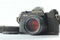 *Exc+5* PENTAX KX Black SLR 35mm Film Camera w/ SMC P 50mm 1.4 From JAPAN#20-058