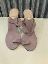 Boohoo women's Evening High Heels Light Purple Size 5