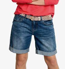 Hush Long Denim Boyfriend Shorts Size 8 Brand New