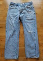 Levis 505 34x30 Light Wash Red Tab Jeans Pants Men L657