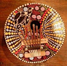 Turtle Mbira Kalimba Karimba African 7 Key Kalimba Handmade of Coconut Shell