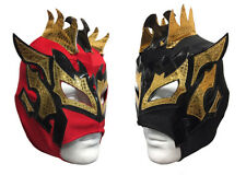 2 pack KALISTO YOUTH KIDS Wrestling Mask Lucha Libre Mask Party Pack RED/BLACK