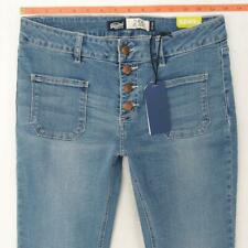 NEW Womens SuperDry ZADIE FLARE Stretch Blue Jeans W29 L32 UK Size 10 BNWT
