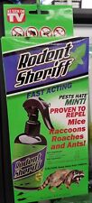 RODENT SHERIFF-  As Seen on TV Natural Pest Control Spray 8 oz Repellent