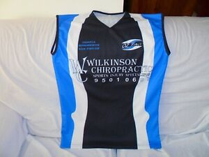 CRONULLA SHARKS OZ TAG NSW REP TRAINING SINGLET SIZE MEDIUM #13